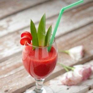 kiwi strawberry smoothie1