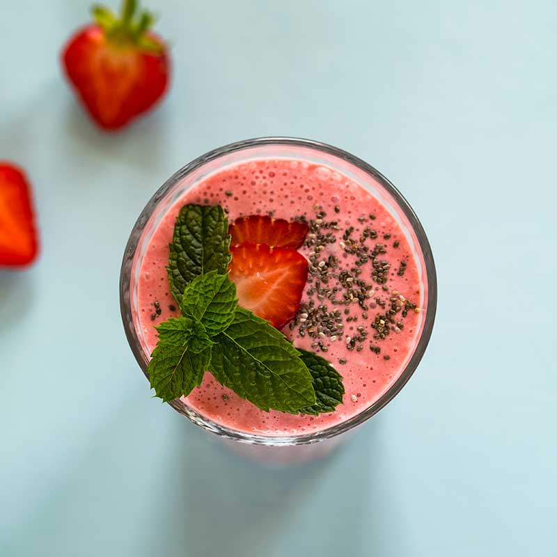 spicy strawberry smoothie1