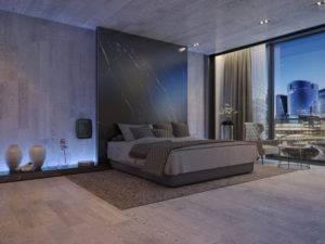 Photo EOLIS PM Noir Hotel chambre